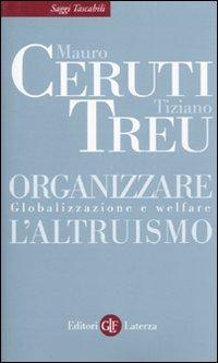Organizzare l'altruismo