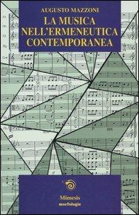 La musica nell'ermeneutica contemporanea