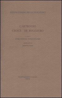 Carteggio Croce-De Ruggiero