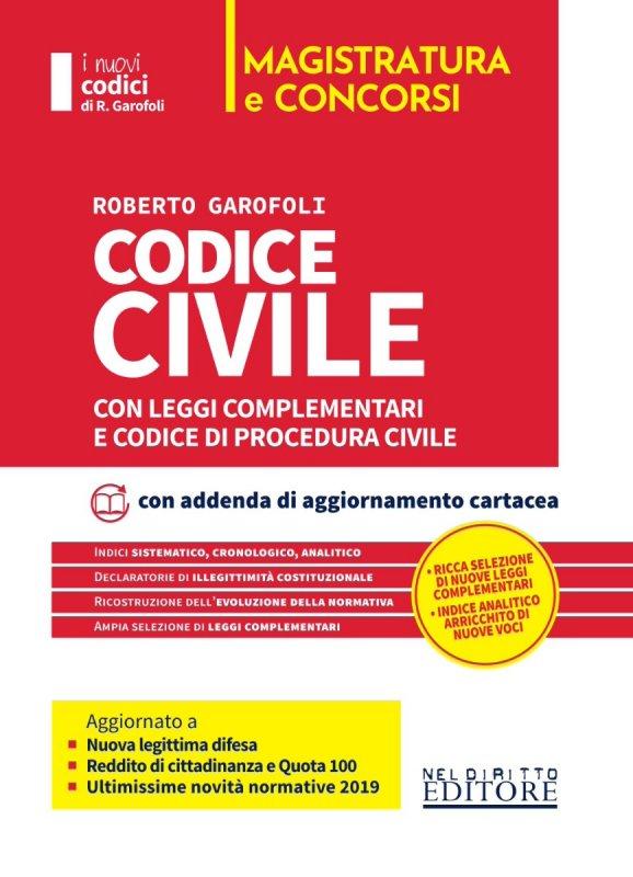 Codice civile e procedura civile con leggi complementari. Concorso magistratura
