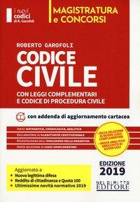 Codice civile con leggi complementari e codice di procedura civile. Concorso magistratura