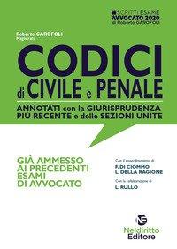 Codici di procedura civile e penale annotati con la giurisprudenza più recente e delle sezioni unite