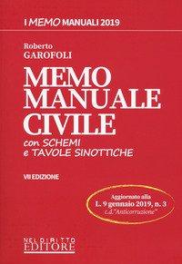 Memo manuale civile con schemi e tavole sinottiche