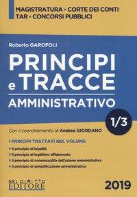Principi e tracce. Amministrativo