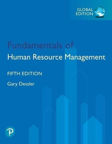 Fundamentals Of Human Resource Management
