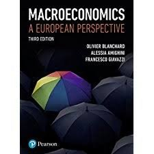 Macroeconomics A European Perspective Third Edition