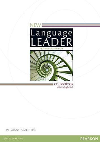 New Language Leader Pre-intermediate. Coursebook. My Englishlab