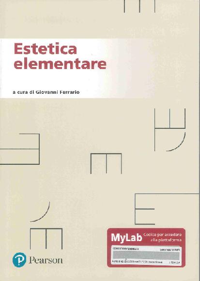 Estetica elementare. Ediz. MyLab