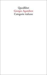 Categorie italiane. Studi di poetica e di letteratura
