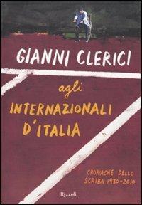 Gianni Clerici agli Internazionali d'Italia
