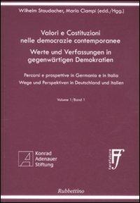 Valori e costituzioni nelle democrazie contemporanee