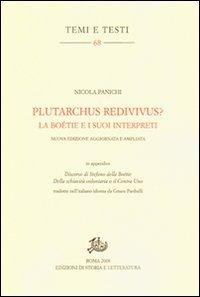 Plutarchus redivivus?