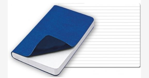 Moleskina Reflexa Piccola Azzurro Blu