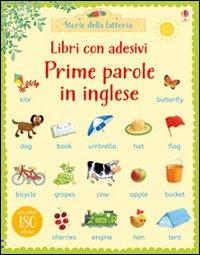 Prime parole in inglese. Con adesivi