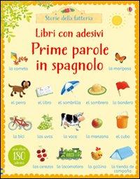 Prime parole in spagnolo. Con adesivi