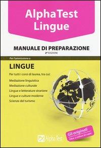 Alpha test. Lingue. Manuale di preparazione