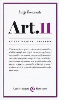 Costituzione Italiana: Articolo 11