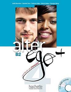 Alter Ego 4 Plus-livre De L`eleve+cd