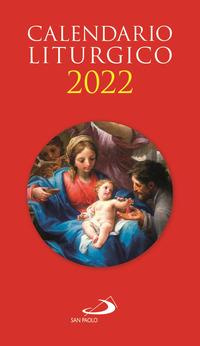Calendario Liturgico 2022