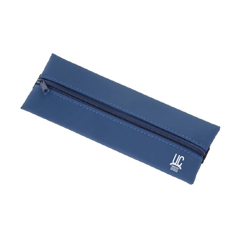 Astuccio Keeper Con Elastico Blu