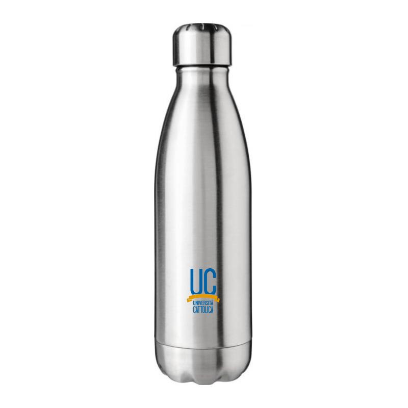 Bottiglia Termica Acciaio Inox 510 Ml Silver