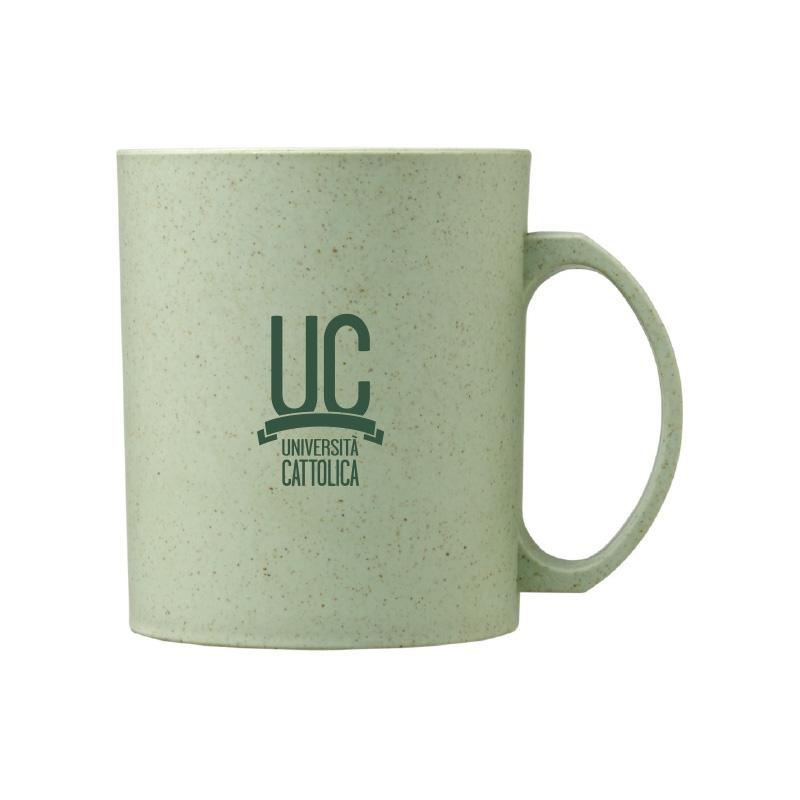 Tazza Mug In Fibra Di Grano Verde Menta