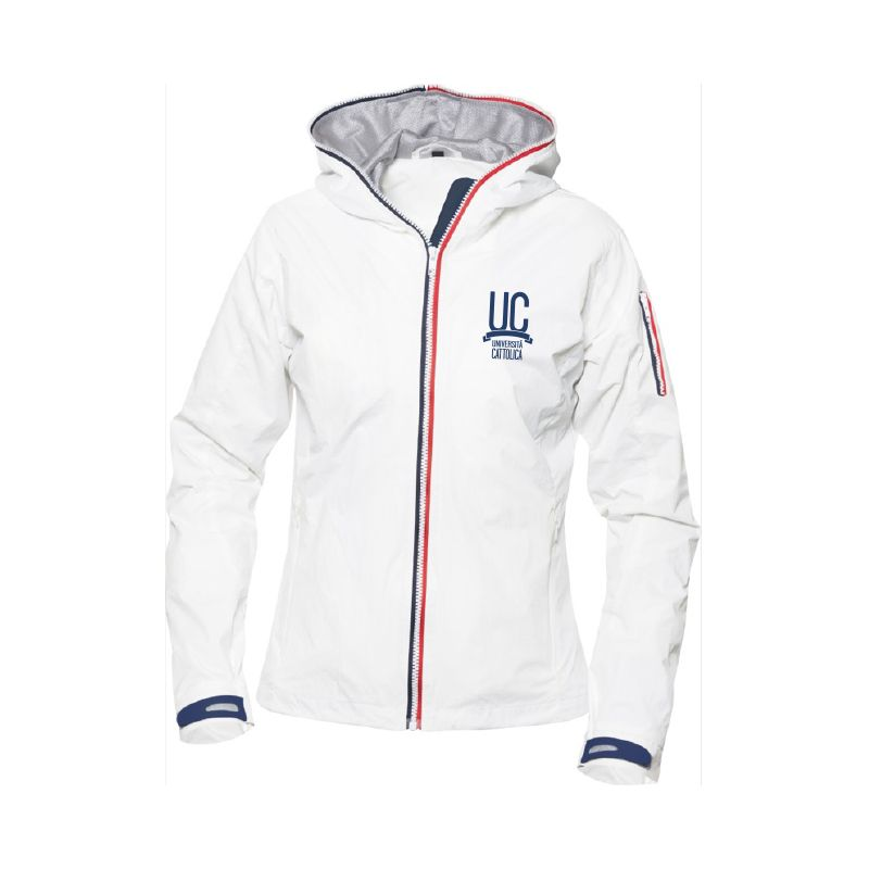 Windbreaker Seabrook Donna Bianco M