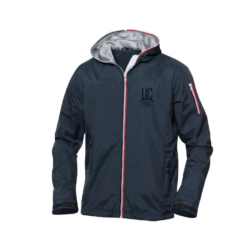 Windbreaker Seabrook Uomo Navy M